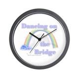 """Dancing on the Bridge"" Wall Clock"