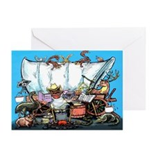 Cute Bar b que Greeting Cards (Pk of 20)