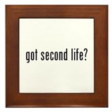 got second life? Framed Tile