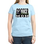 Soccer Mom Women's Pink T-Shirt