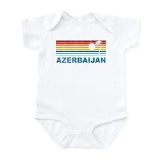 Palm Tree Azerbaijan Infant Bodysuit
