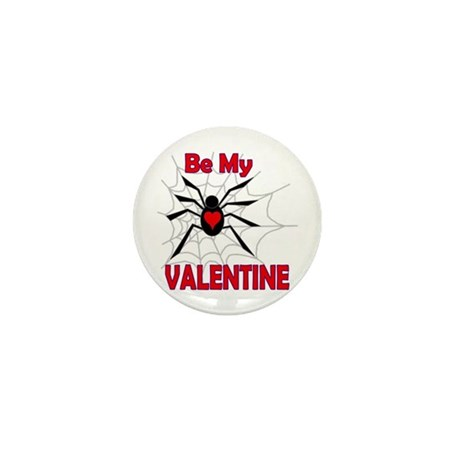 Spider Valentine Mini Button