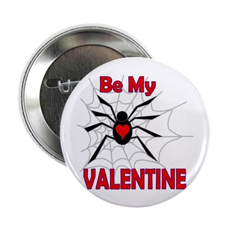 "Spider Valentine 2.25"" Button (10 pack)"
