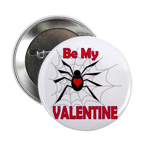 "Spider Valentine 2.25"" Button"