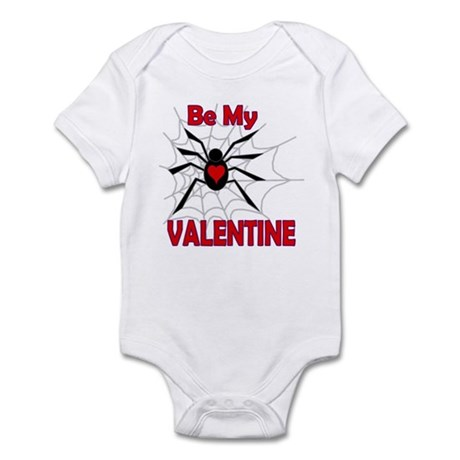 Spider Valentine Infant Bodysuit