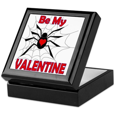 Spider Valentine Keepsake Box