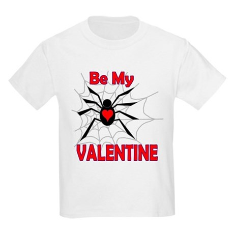 Spider Valentine Kids Light T-Shirt