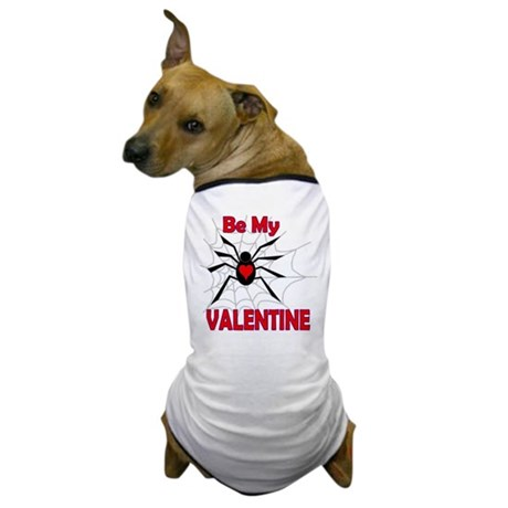 Spider Valentine Dog T-Shirt
