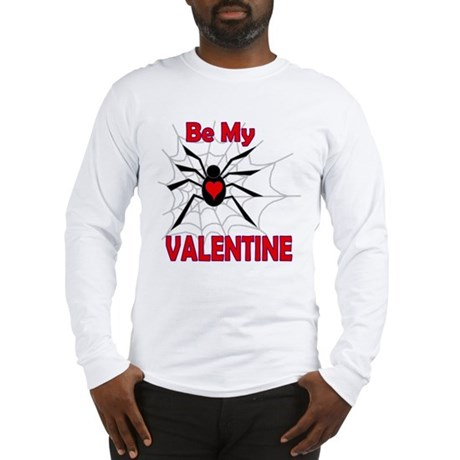 Spider Valentine Long Sleeve T-Shirt