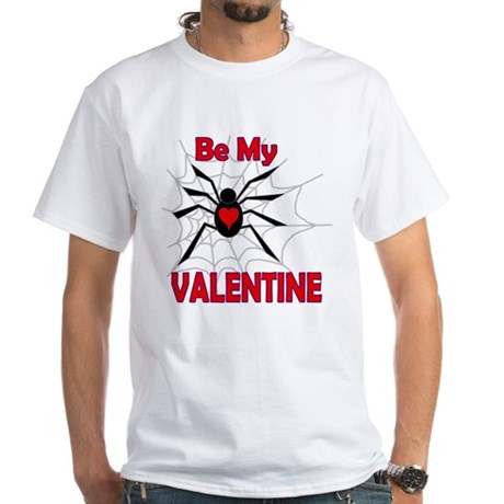 Spider Valentine White T-Shirt