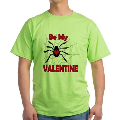 Spider Valentine Green T-Shirt
