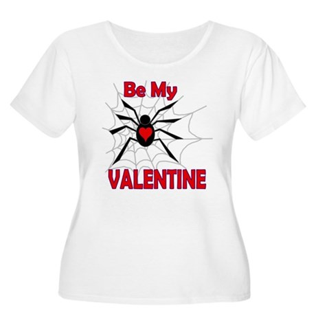 Spider Valentine Women's Plus Size Scoop Neck T-Sh