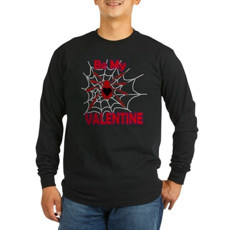 Spider Valentine Long Sleeve Dark T-Shirt