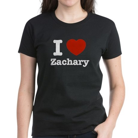 I love Zachary Women's Dark T-Shirt