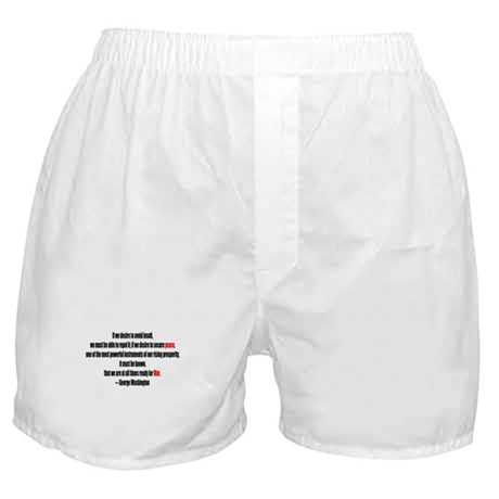 Peace and War Boxer Shorts