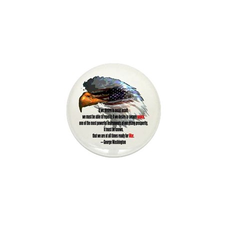 Peace and War Mini Button (100 pack)