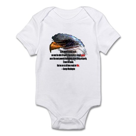 Peace and War Infant Bodysuit