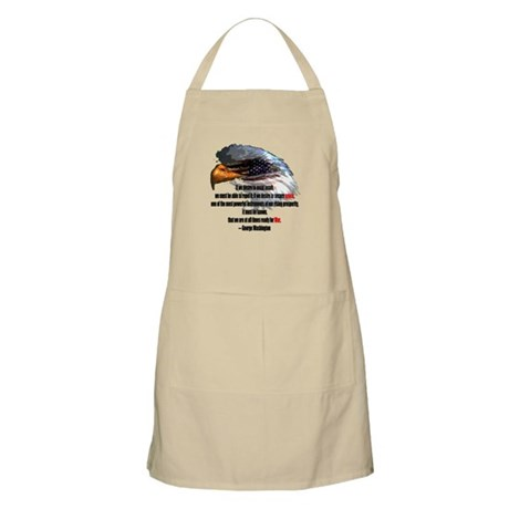 Peace and War BBQ Apron