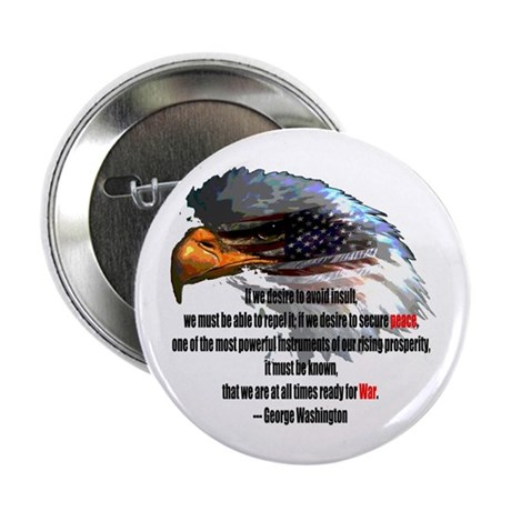 "Peace and War 2.25"" Button (10 pack)"