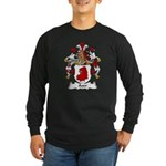 Auer Family Crest Long Sleeve Dark T-Shirt