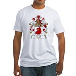 Auer Family Crest Fitted T-Shirt