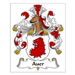 Auer Family Crest Small Poster