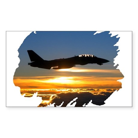 F-14 Tomcat Rectangle Sticker