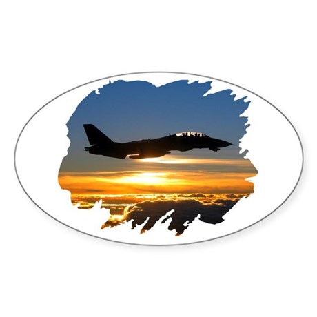 F-14 Tomcat Oval Sticker