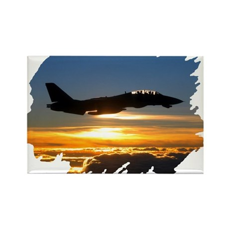 F-14 Tomcat Rectangle Magnet (10 pack)