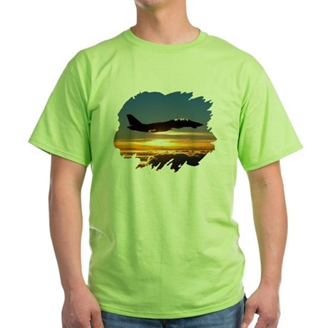 F-14 Tomcat Green T-Shirt