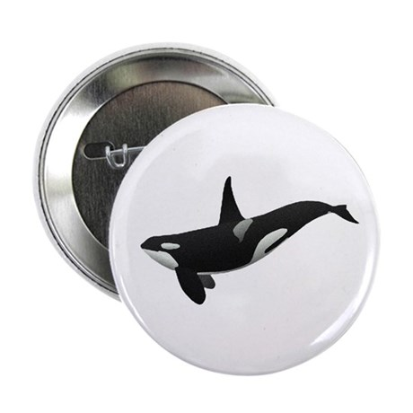 "Orca 2.25"" Button (10 pack)"