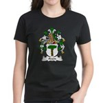 Adam Family Crest Women's Dark T-Shirt