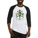 Adam Family Crest Baseball Jersey