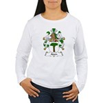 Adam Family Crest Women's Long Sleeve T-Shirt