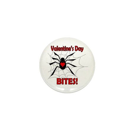 Valentine's Day Bites Mini Button (10 pack)