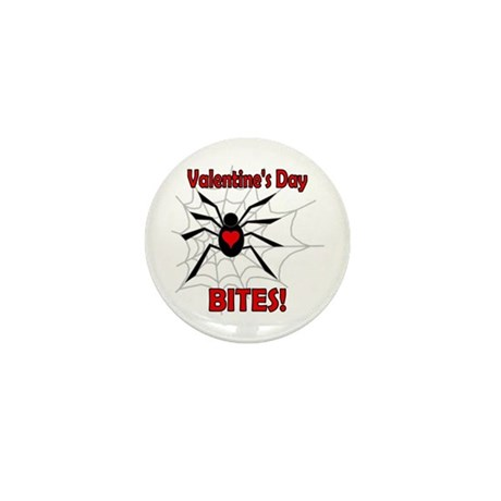 Valentine's Day Bites Mini Button