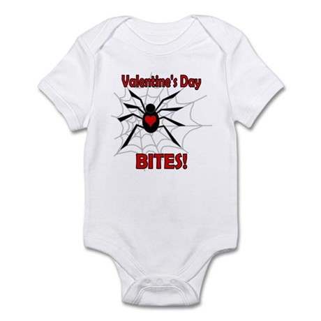 Valentine's Day Bites Infant Bodysuit