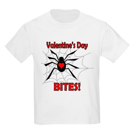 Valentine's Day Bites Kids Light T-Shirt