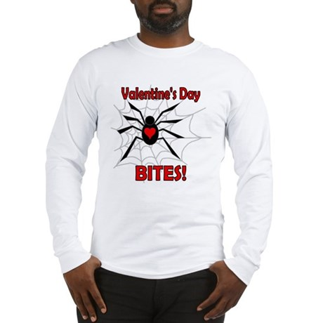Valentine's Day Bites Long Sleeve T-Shirt