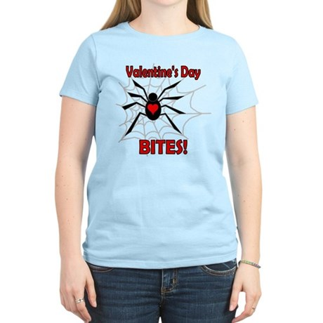 Valentine's Day Bites Women's Light T-Shirt