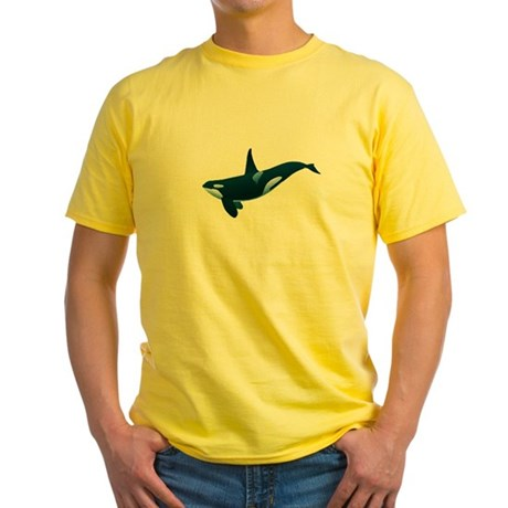 Orca Yellow T-Shirt