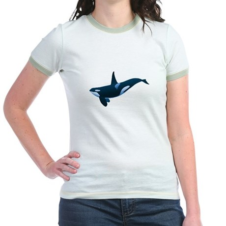 Orca Jr. Ringer T-Shirt