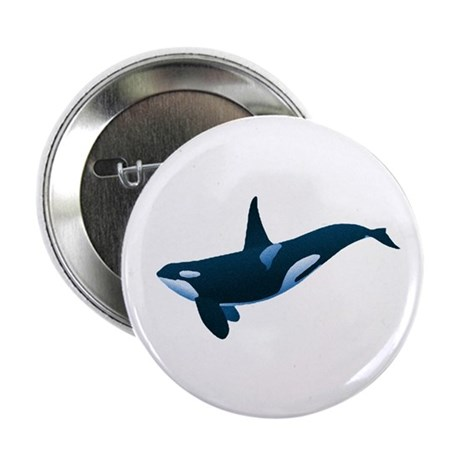 "Orca 2.25"" Button (100 pack)"