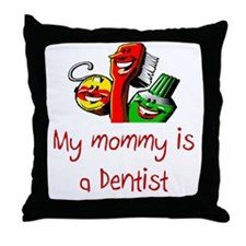 Dentist Throw Pillow