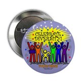 "Celebrate Diversity 2.25"" Button (100 pack)"
