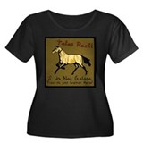 Akhal-Teke Women's Plus Size Scoop Neck T-Shirt