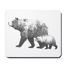 Grizzly Bears Mousepad
