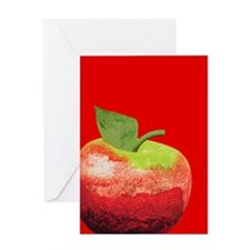 Image of an Apple Greeting Card