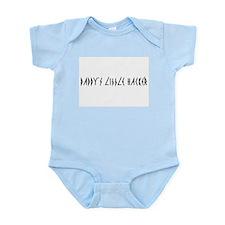 """""""Daddy's Little Hacker"""" Infant Bodysuit"""