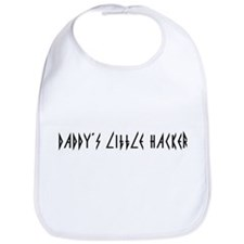 Daddy's Little Hacker Bib